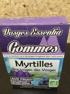 Gommes myrtille gerardmer