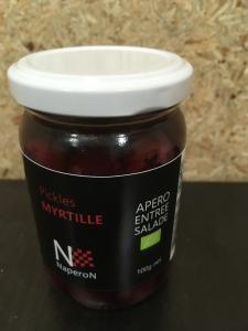 Pickles myrtille SCEA mille fruits