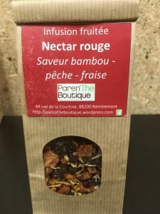 infusion nectar rouge parenthe remiremont